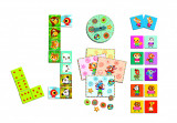 Set 3 jocuri: Bingo, Memo, Domino Djeco