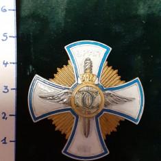 Insigna 7-ani Scoala Preparatoare Aeronautica Romana; reproductie Regalista