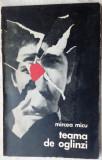 MIRCEA MICU - TEAMA DE OGLINZI (VERSURI, 1971) [coperti de FLORIN PUCA]