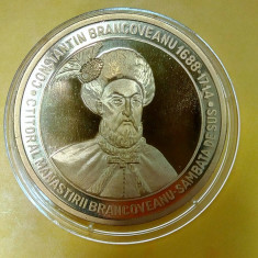 SV * Medalia ALEXANDRU IOAN CUZA 1820 - 1873 * CONSTANTIN BRANCOVEANU 1688 -1714