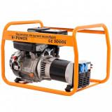 Generator curent Ruris R-Power GE 5000 13 CP 389 CC Portocaliu