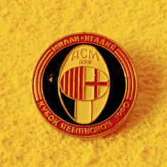 Insigna fotbal AC MILAN 1990