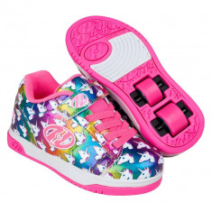 Heelys Dual Up X2 Rainbow/Unicorn