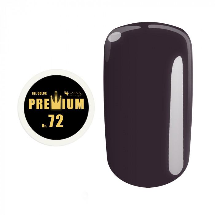 Gel color Premium Calsa - nr. 72, 5 ml