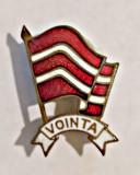 INSIGNA FOTBAL VOINTA BUCURESTI 1951 SCUT