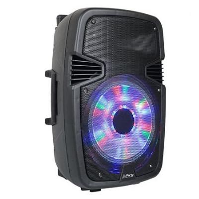 Boxa activa Party, 400 W, Bluetooth, microfon, radio FM, acumulator inclus foto