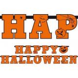 Ghirlanda Happy Halloween Portocalie