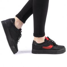 Pantofi sport dama Camela negri
