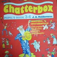 Limba engleza. Manual pentru clasa a IV-a (anul 3 de studiu). Chatterbox, Pupil's Book 3-4