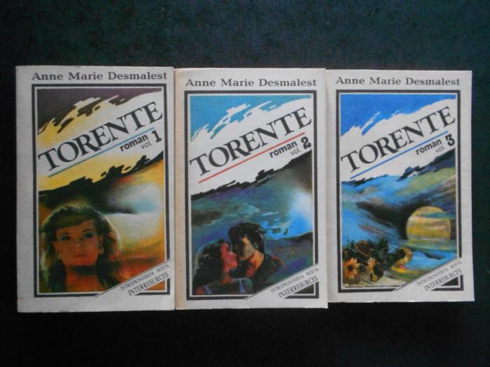 MARIE-ANNE DESMAREST - TORENTE 3 volume, seria integrala