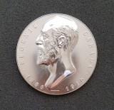 Medalie 1910 E. Carada - Banca nationala a Romaniei - per. regalista
