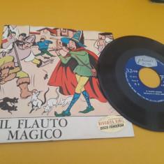 VINIL IL FLAUTO MAGICO SERIES FIABE NR.7 1967  DISC STARE FB
