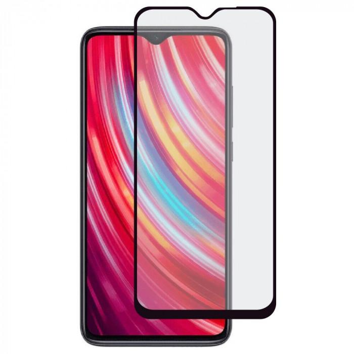 Folie Sticla Roar pentru Xiaomi Redmi Note 8 Pro, 5D, Full Cover (acopera tot ecranul), Full Glue, Negru