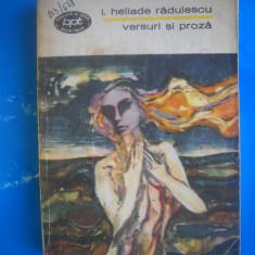 HOPCT I HELIADE RADULESCU-VERSURI SI PROZA EDITURA MINERVA -1972 437 PAGINI