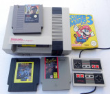 Retro Nintendo NES-001 System Super Mario Bros 3 Original OEM 4jocuri
