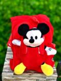 Cumpara ieftin Ghiozdan din plus cu Mickey Mouse
