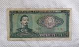 BANCNOTA 50 LEI 1966 - SERIE D.0067
