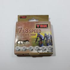 Lant Bicicleta MTB 7 - 8 Viteze
