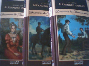 Alexandre Dumas - DOAMNA DE MONSOREAU { 3 volume } / Biblioteca Adevarul/ 2011