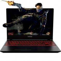 Laptop Lenovo Legion Y7000 15.6 inch FHD Intel Core i7-9750H 8GB DDR4 256GB SSD nVidia GeForce GTX 1650 4GB Black