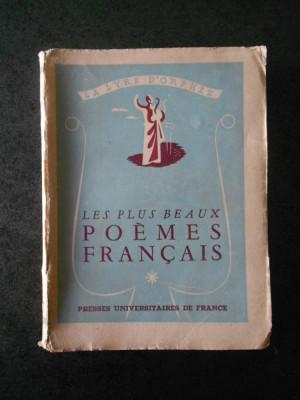 LA LYRE D'ORPHEE. LES PLUS BEAUX POEMES FRANCAIS (1946) foto