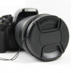 Capac obiectiv foto DSRL (fata) de 40.5 mm pentru Canon, Nikon, Sony, Pentax,...
