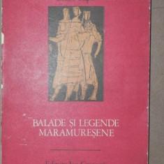 BALADE SI LEGENDE MARAMURESENE-ISIDOR RIPA BUCURESTI 1976