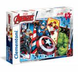 Cumpara ieftin Puzzle Maxi Super Color Avengers, 24 piese
