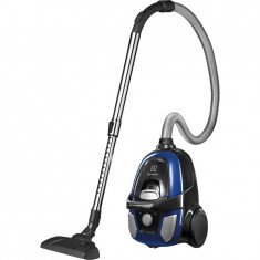 Aspirator fara sac EAPC51IS, 650 W, filtru Hygiene 10, tub telescopic, albastru, Electrolux