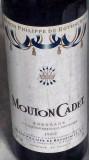 Sticla vin 1999, regiunea Bordeaux (Franta), sigilata, Sec, Rosu, Europa