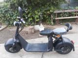 SCUTER ELECTRIC 1500W cu Baterie DETASABILA 20Ah Suspensie Harley Chop