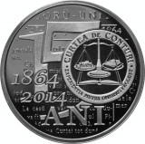 BNR 10 lei 2014 150 de ani de la înfiinţarea Curţii de Conturi 2014