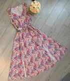 Cumpara ieftin Rochie Dama Florala lunga maxi