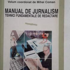 Manual de jurnalism -M. Coman - 1997