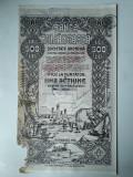 500 Lei 1920 Banca Romaneasca actiuni vechi / Romania 327299