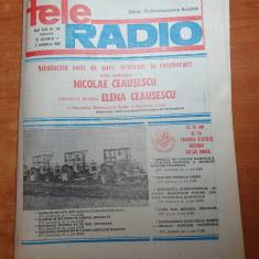 revista tele radio 30 octombrie - 5 noiembrie 1983