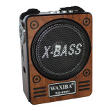 Cumpara ieftin Radio Mp3 portabil Waxiba XB-909U, baterie interna