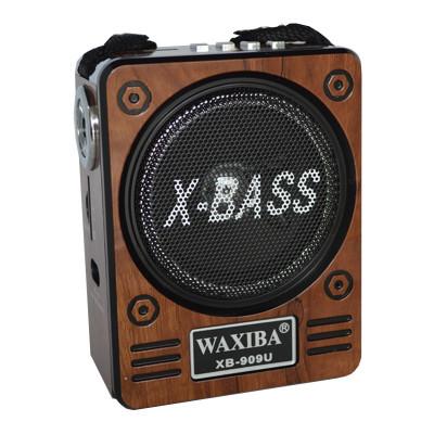 Radio Mp3 portabil Waxiba XB-909U, baterie interna foto