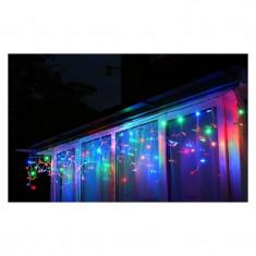 Instalatie de Craciun 5 m x 0,8 m Perdea, Multicolor, 240 leduri, SDX, 9017RB / instalatii luminoase de exterior