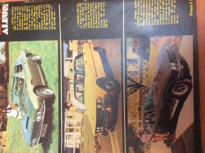 AUTOTURISM  Nr 4  Anul  1972 foto