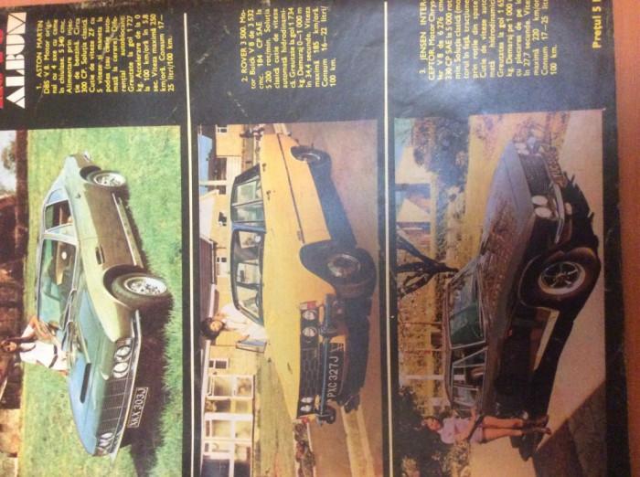 AUTOTURISM  Nr 4  Anul  1972
