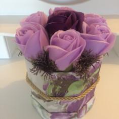 Aranjamente flori cu sapun!