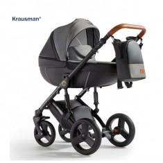 Krausman - Carucior 3 in 1 Nexxo Black