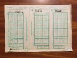 Bilet LOTO - PRONOSPORT vechi, perioada comunista (necompletat - Stare buna!)