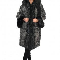 Jacheta ,nuanta gri inchis ,din lana cu captusala subtire