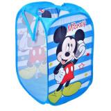 Cos pliabil pentru jucarii Shopiens, 35x58 cm, Disney Mickey Mouse, Multicolor