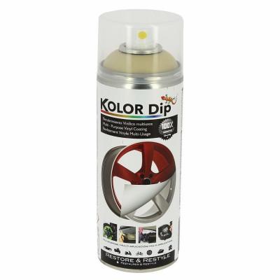 Spray vopsea cauciucata Kolor Dip Auriu Metalic Perlat 400ml Kft Auto foto