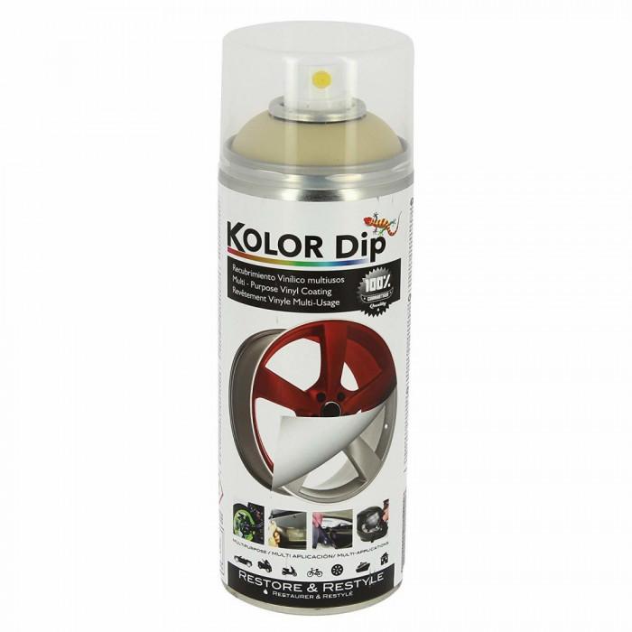 Spray vopsea cauciucata Kolor Dip Auriu Metalic Perlat 400ml Kft Auto
