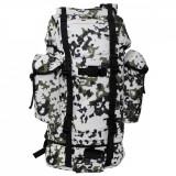 Rucsac MFH BW Combat Camuflaj Snow Camo 65L 30253N, 65 L