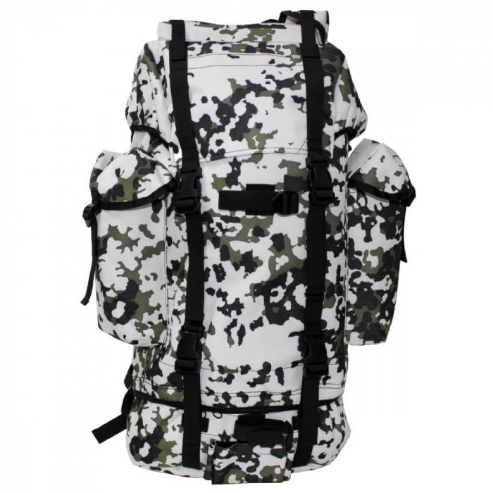 Rucsac MFH BW Combat Camuflaj Snow Camo 65L 30253N